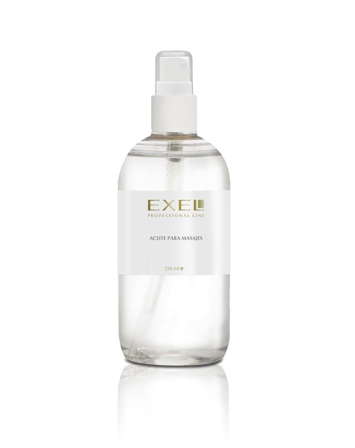 Aceite para Masajes x 250ml c/ Válvula Exel