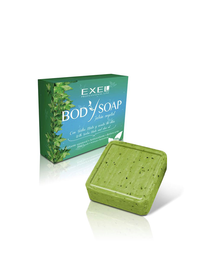 Jabón Vegetal Exfoliante Antioxidante X 90g Exel