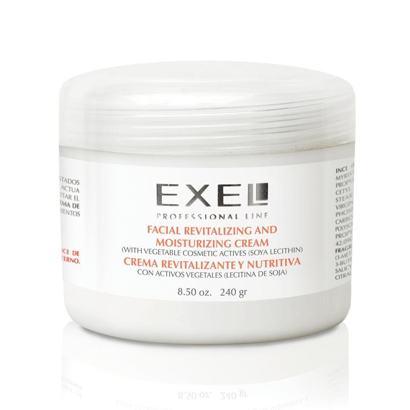 Crema Revitalizante y Nutritiva con Activos Vegetales x 240ml Exel