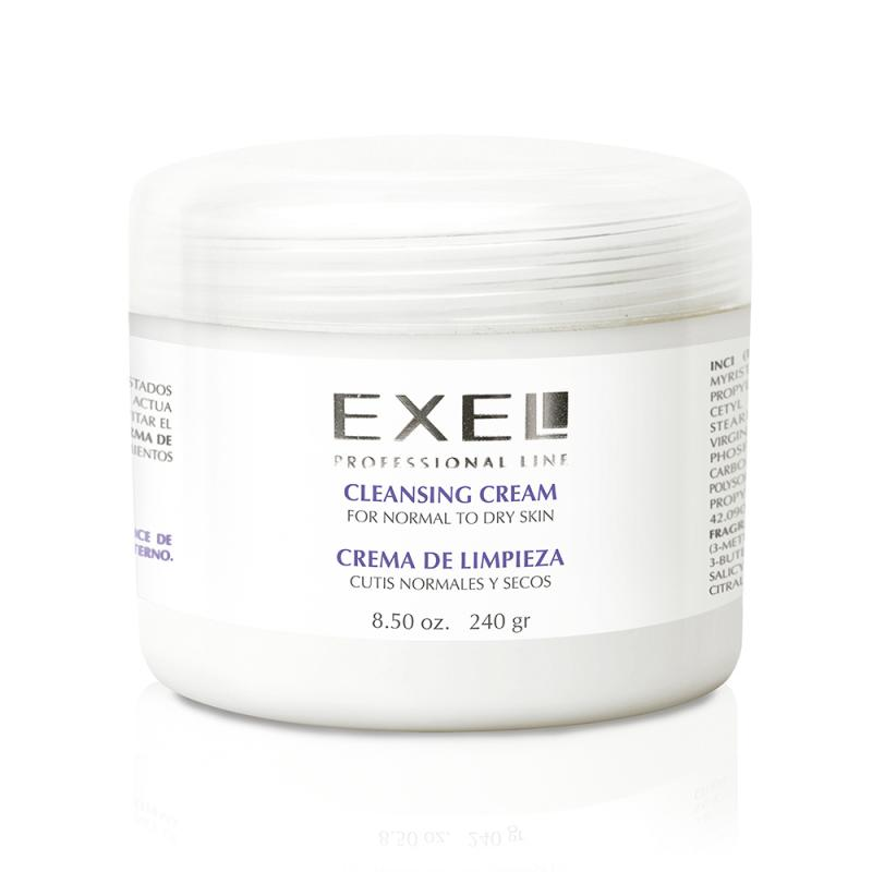 Crema de Limpieza Cutis Normal a Seco x 240g Exel