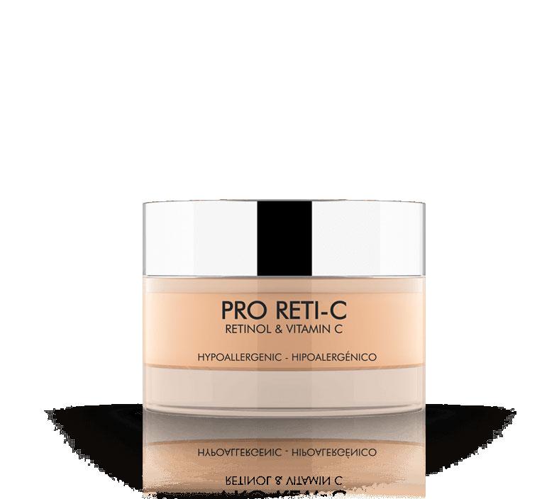 Pro Reti-C Crema Retinol y Vitamina C, Idraet