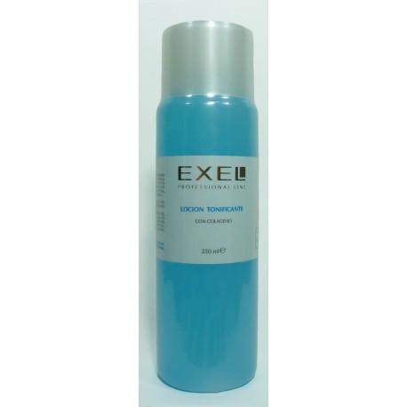Loción Tonificante con Colágeno x 250ml Exel