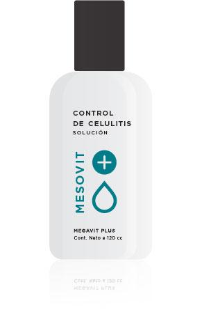 Control Celulitis Mesovit Solución x 120ml Icono