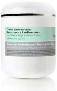 Crema Reafirmante y Reductora con Fosfatidilcolina x 500g, Carthage