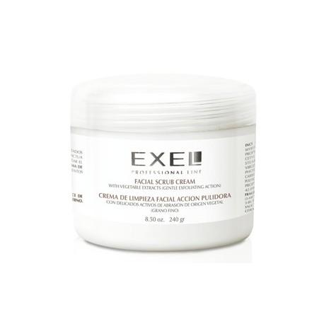 Crema de Limpieza Facial pulidora Grano Fino x 240ml Exel