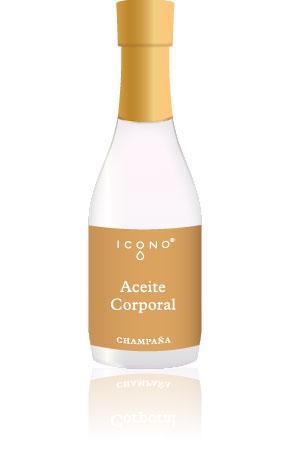 Aceite Corporal Champaña x 250ml Icono