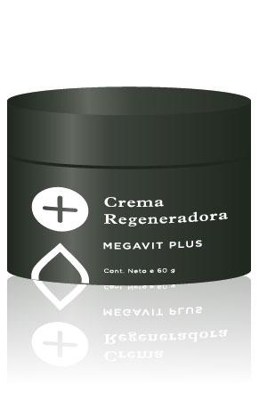 Crema Regeneradora Megavit Plus x 50g Icono