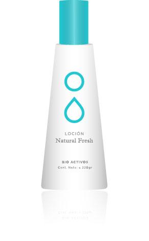 Loción Natural Fresh x220g Icono