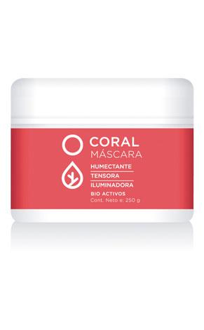 Coral Máscara Tensora x 250g Icono