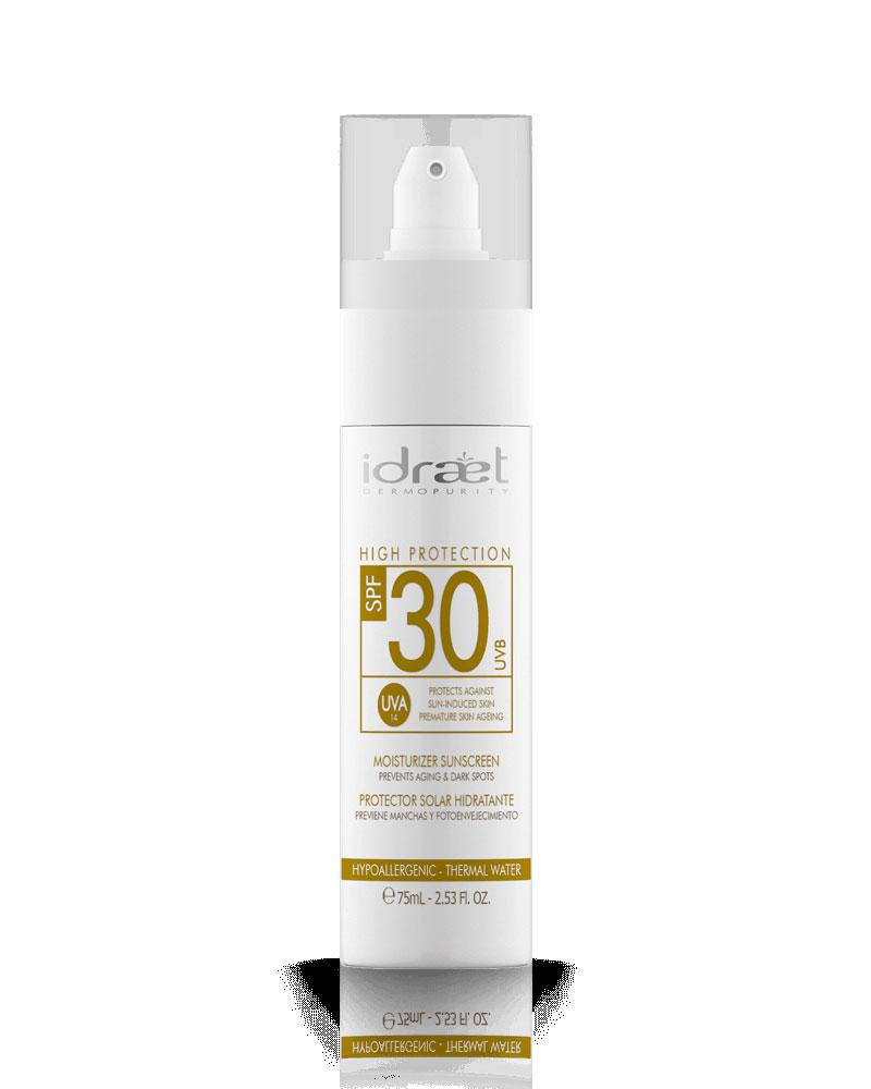 Protector Solar SPF 30 Natural, Idraet
