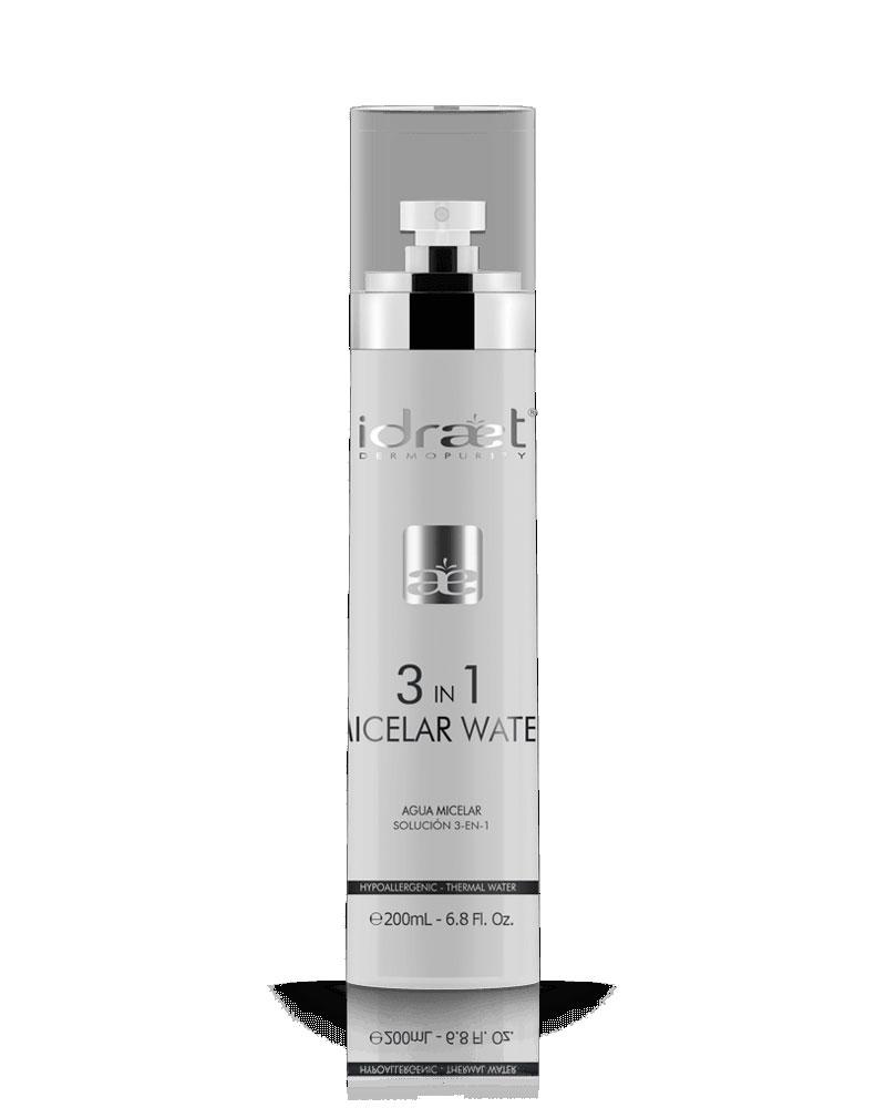Agua Micelar 3 en 1 x 200ml, Idraet