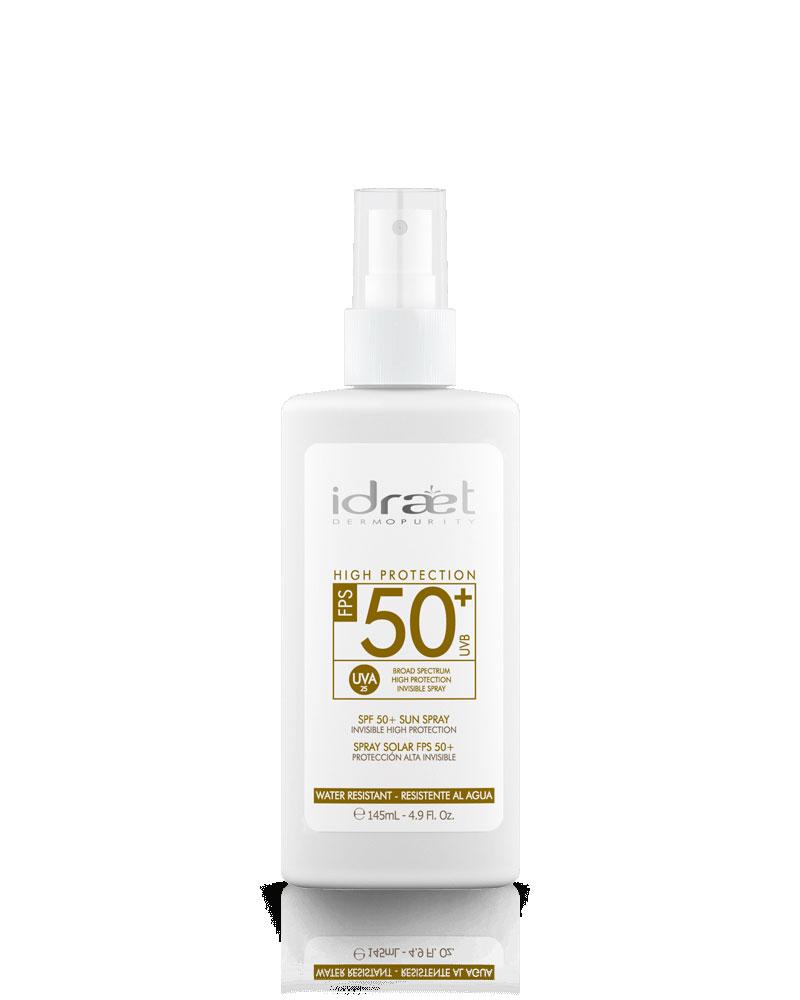 Spray Invisible Protector 50+, Idraet