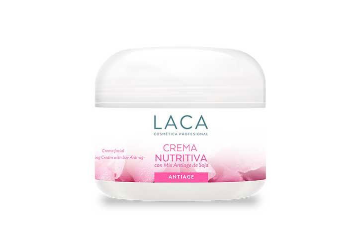 Crema Nutritiva con Mix Antiage de Soja x 250g, Laca
