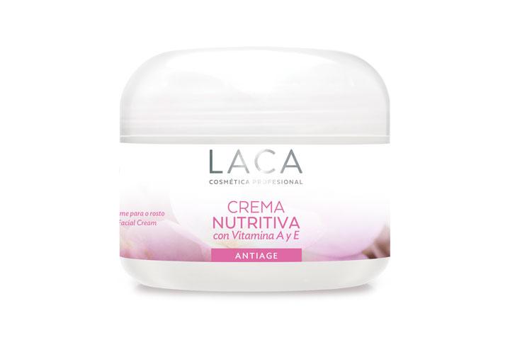 Crema Nutritiva con Vitamina A y E, Laca