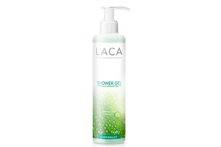 Shower Gel con Proteínas y Extractos Vegetales, Laca
