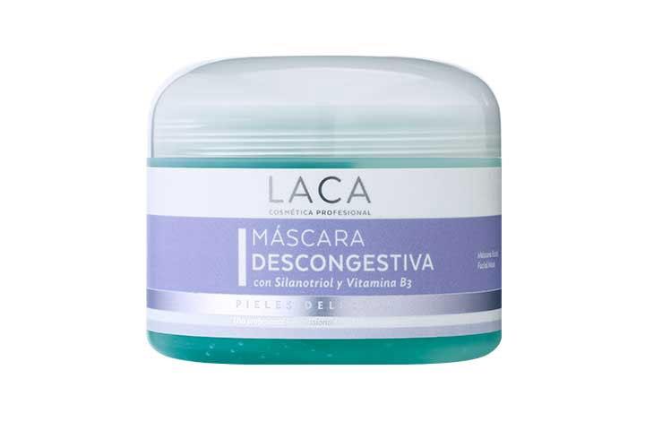 Máscara Descongestiva con Silanotriol y Vitamina B3, Laca