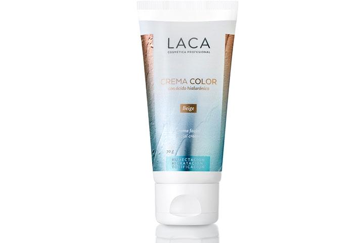 Crema Color con Ácido Hialurónico, Laca