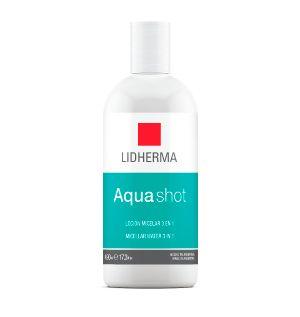 Aquashot Loción Micelar x 490ml. Lidherma