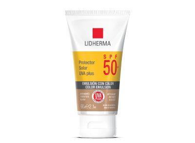 Protector Solar UVA Plus SPF 50 Color Lidherma